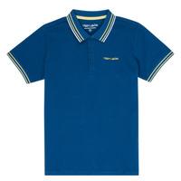 Oblečenie Chlapci Polokošele s krátkym rukávom Teddy Smith PASY Námornícka modrá