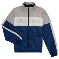 Oblečenie Chlapci Bundy  Teddy Smith HERMAN Šedá / Námornícka modrá