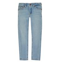 Oblečenie Chlapci Džínsy Slim Tommy Hilfiger SIMON Modrá