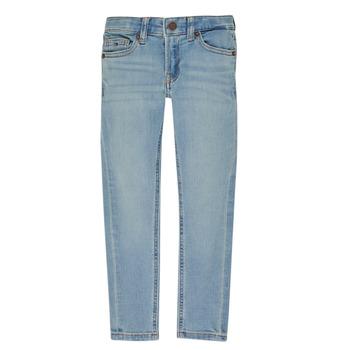 Oblečenie Chlapci Rifle Slim  Tommy Hilfiger SIMON Modrá