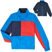 Oblečenie Chlapci Bundy  Tommy Hilfiger MARION Modrá