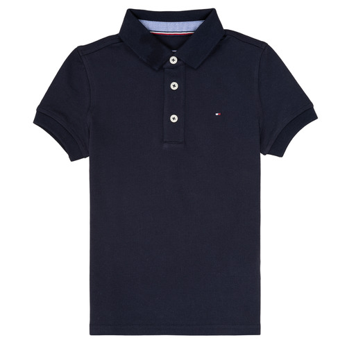 Oblečenie Chlapci Polokošele s krátkym rukávom Tommy Hilfiger KB0KB03975 Námornícka modrá