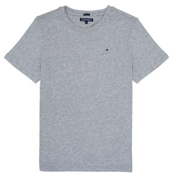 Oblečenie Chlapci Tričká s krátkym rukávom Tommy Hilfiger KB0KB04140 Šedá