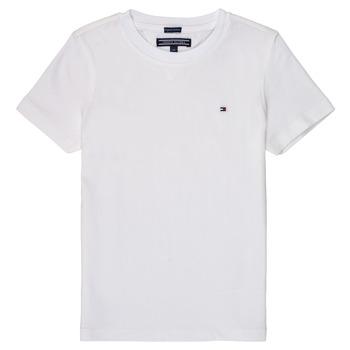 Oblečenie Chlapci Tričká s krátkym rukávom Tommy Hilfiger KB0KB04140 Biela