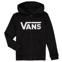 Oblečenie Chlapci Mikiny Vans BY VANS CLASSIC ZIP HOODIE Čierna