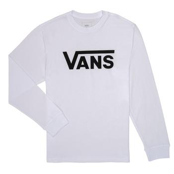Oblečenie Chlapci Tričká s dlhým rukávom Vans BY VANS CLASSIC LS Biela