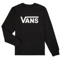 Oblečenie Chlapci Tričká s dlhým rukávom Vans BY VANS CLASSIC LS Čierna