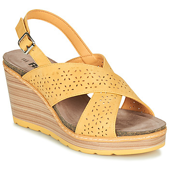 Topánky Ženy Sandále Refresh RILO Žltá
