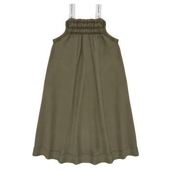 Oblečenie Dievčatá Krátke šaty Le Temps des Cerises BIJA Kaki