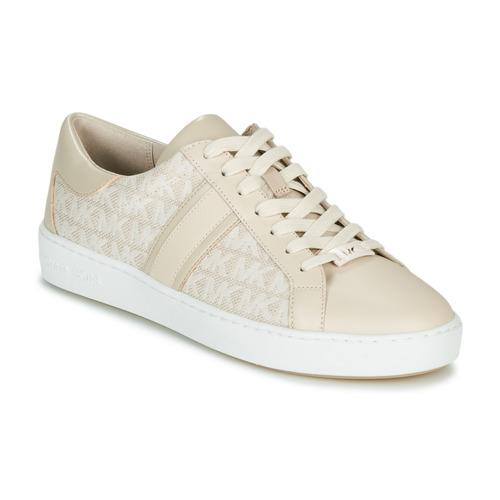 Topánky Ženy Nízke tenisky MICHAEL Michael Kors KEATON STRIPE Béžová