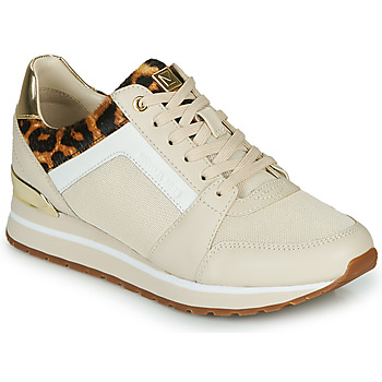 Topánky Ženy Nízke tenisky MICHAEL Michael Kors BILLIE Béžová / Leopard