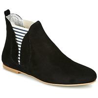 Topánky Ženy Polokozačky Ippon Vintage PATCH FLYBOAT Čierna