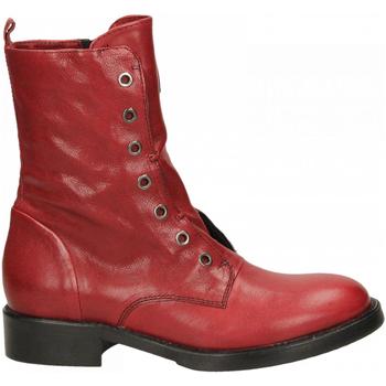 Topánky Ženy Polokozačky Fabbrica Dei Colli 511 WOOD 00006-rosso