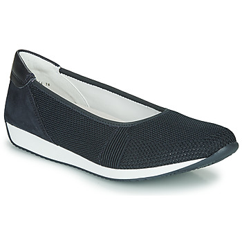 Topánky Ženy Nízke tenisky Ara PORTO-FUSION Modrá
