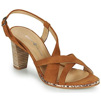 Topánky Ženy Sandále Philippe Morvan JUDE Hnedá