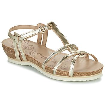 Topánky Ženy Sandále Panama Jack DORI Zlatá