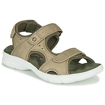 Topánky Muži Sandále Panama Jack SALTON Zelená