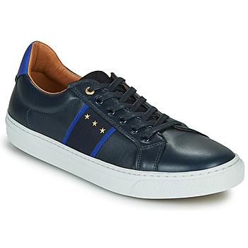 Topánky Muži Nízke tenisky Pantofola d'Oro ZELO UOMO LOW Modrá