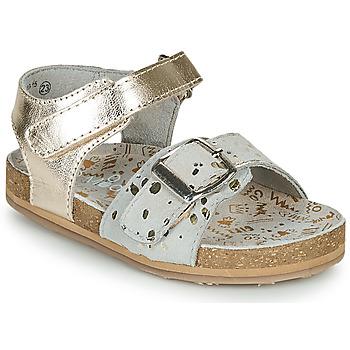 Topánky Dievčatá Sandále Mod'8 KORALY Zlatá