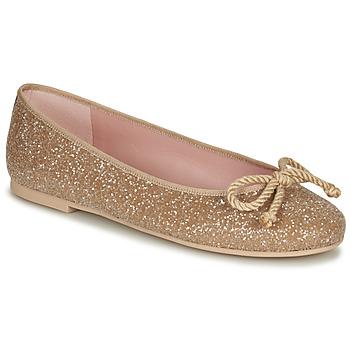 Topánky Ženy Balerínky a babies Pretty Ballerinas BELLE SAND Zlatá