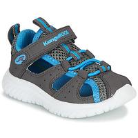 Topánky Deti Sandále Kangaroos KI-Rock Lite EV Šedá / Modrá