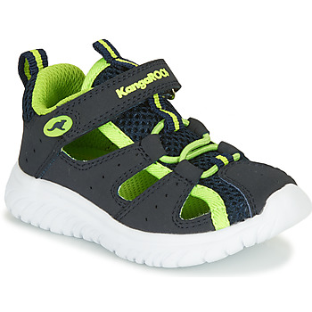 Topánky Chlapci Sandále Kangaroos KI-Rock Lite EV Modrá / Žltá