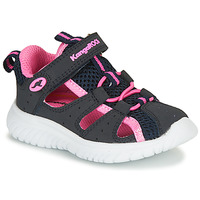 Topánky Dievčatá Sandále Kangaroos KI-Rock Lite EV Modrá / Ružová