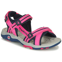 Topánky Dievčatá Sandále Kangaroos K-LENI Ružová