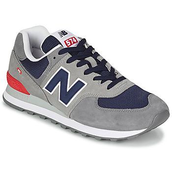 Topánky Muži Nízke tenisky New Balance 574 Šedá / Modrá / Červená