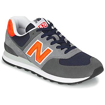 Topánky Muži Nízke tenisky New Balance 574 Šedá / Oranžová