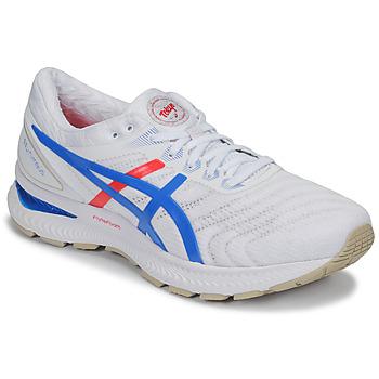 Topánky Muži Bežecká a trailová obuv Asics GEL-NIMBUS 22 - RETRO TOKYO Biela
