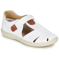 Topánky Chlapci Sandále Citrouille et Compagnie GUNCAL Biela