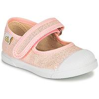 Topánky Dievčatá Balerínky a babies Citrouille et Compagnie APSUT Ružová