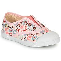 Topánky Dievčatá Nízke tenisky Citrouille et Compagnie RIVIALELLE Ružová / Viacfarebná