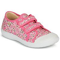 Topánky Dievčatá Nízke tenisky Citrouille et Compagnie GLASSIA Ružová / Viacfarebná