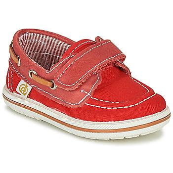Topánky Chlapci Námornícke mokasíny Citrouille et Compagnie GASCATO Červená