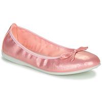 Topánky Dievčatá Balerínky a babies Citrouille et Compagnie INOBALI Ružová