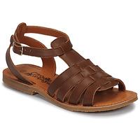 Topánky Dievčatá Sandále Citrouille et Compagnie MINIBOU Hnedá