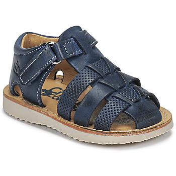 Topánky Chlapci Sandále Citrouille et Compagnie MISTIGRI Námornícka modrá