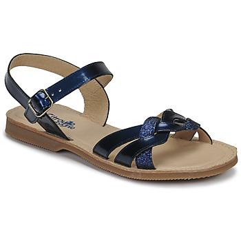Topánky Dievčatá Sandále Citrouille et Compagnie MADELLE Námornícka modrá