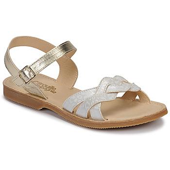 Topánky Dievčatá Sandále Citrouille et Compagnie MADELLE Strieborná