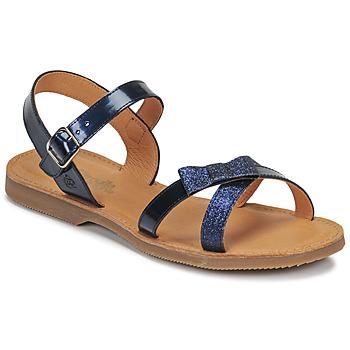 Topánky Dievčatá Sandále Citrouille et Compagnie JISCOTTE Námornícka modrá