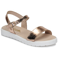 Topánky Dievčatá Sandále Citrouille et Compagnie GAPOTI Bronzová
