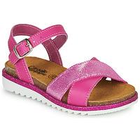 Topánky Dievčatá Sandále Citrouille et Compagnie GAUFRETTE Ružová