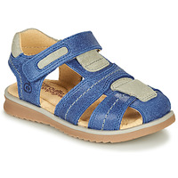 Topánky Chlapci Sandále Citrouille et Compagnie MABILOU Modrá