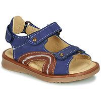 Topánky Chlapci Sandále Citrouille et Compagnie MASTIKO Modrá