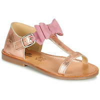 Topánky Dievčatá Sandále Citrouille et Compagnie MELINDA Strieborná