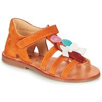 Topánky Dievčatá Sandále Citrouille et Compagnie MIETTE Oranžová