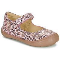 Topánky Dievčatá Balerínky a babies Citrouille et Compagnie JALIPINE Leopard