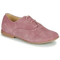 Topánky Dievčatá Derbie Citrouille et Compagnie MISTI Ružová